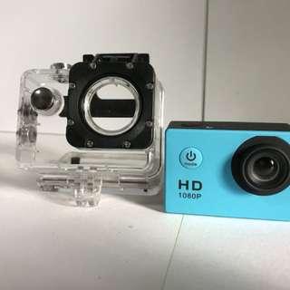 Sports Action Camera 1080p (waterproof)