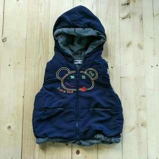 Vest jaket anak import  Kanvas Dalem mantel  1 - 2 tahun  LD 35cm Panjang 34cm  60ribu  Sapa cepat dia dapat😍