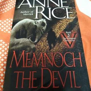 Anne Rice - Memnoch the devil