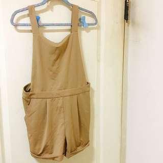 Pazzo 秋冬連身吊帶短褲