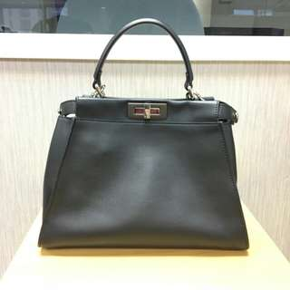 95% new Fendi Monster Eyes Peekaboo 34cm