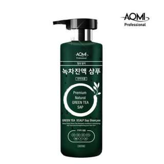 AOMI PREMIUM NATURAL GREEN TEA SAP SHAMPOO