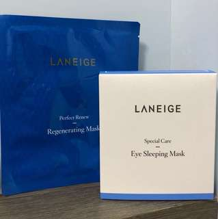 LANEIGE Eye Sleeping Mask 25ml + 送🎁Regenerating Mask 20ml
