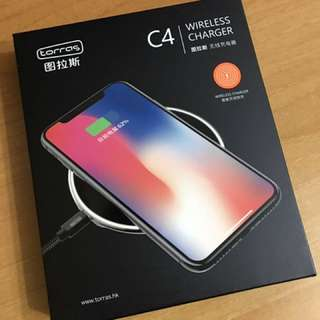 iphone X 無線充電(白色)