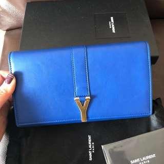 Saint Laurent Wallet <100% authentic; 90% new>