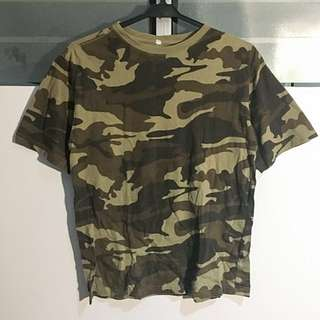 Green Camo Shirt