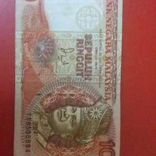 Duit Lama RM10