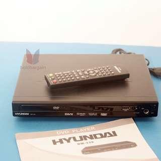 HYUNDAI DM-339 DVD DViX XViD Mp3 Mp4 USB Player with Multichannel output