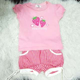 Girl's Set (1-2yrs old)