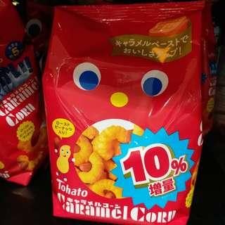 Tohato 10%增量焦糖粟米條