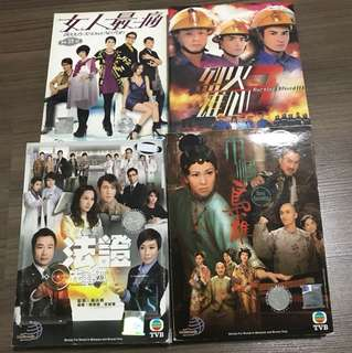 CNY Special - TVB Drama DVD ( All for $25)