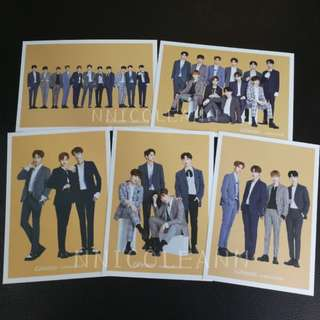 Ghana x Wanna One Postcard Set