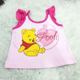 Pooh singlet (6-12months)