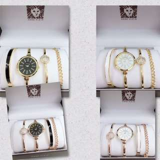 Anne Klein set watch 4in1