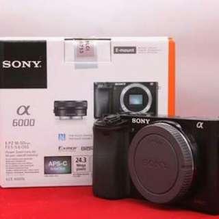 Kredit Sony Alpha A6000 Body Only - Cicilan tanpa CC