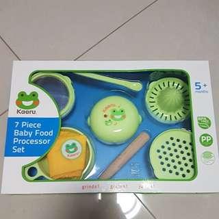 Kaeru Baby Food Processor Set