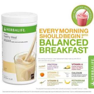 Herbalife Nutrition Shake for WEIGHT LOSS 22pcs French Vanilla sachet @ 10% Discount
