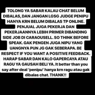 BE RESPECT AND SHOW YOUR MANNER