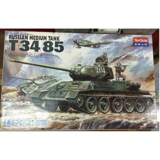 1/25th WW2 Russian T34 Tank (Made in Korea)