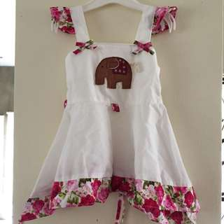 Little Elephant Flowery Dress