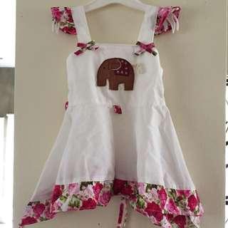 Little Elephant Flowery Dress