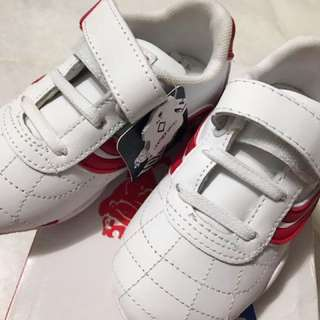Lonsdale London Infant Shoes Red White Size C7