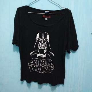 Cool Teen Kaos Star Wars Darth Vader T-shirt