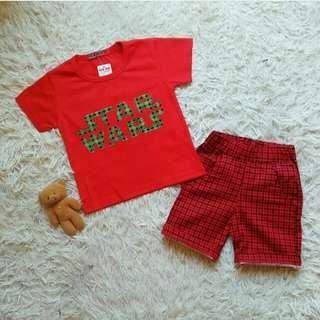 Baju Anak set Rk Star Wars