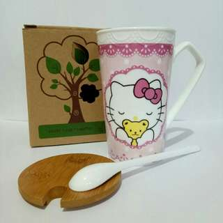 Mug Keramik Hello Kitty
