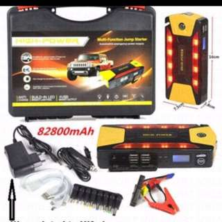 New 68800/82800/89800 2/4 USB ports car jump Starter Emergency Charger Power Bank