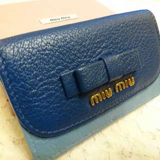 💞💖Miu Miu Leather Card Holder