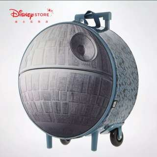 $499 Star Wars Disney store Death star 死星 luggage 行李