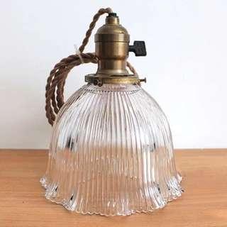 美國30年代HOLOPHANE鈴蘭小姐吊燈