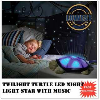 Twilight turtle Led night