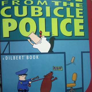 Fugitive From The Cubicle Police. A Dilbert Book. By Scott Adams.