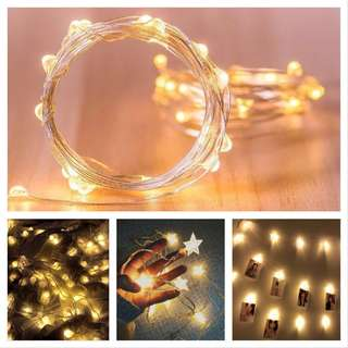 AA battery operated LED decoration light.