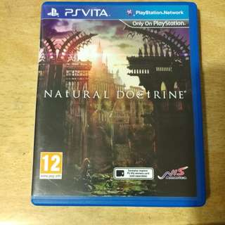 Used PS Vita Natural Doctrine