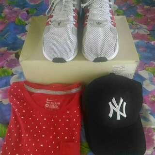 Take all this items for 1k adisas high quality ny cap