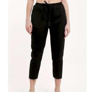 Tees and Scissors Black Long Pants