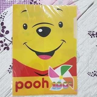 BNIP - Winnie the Pooh L shape Folder