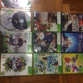 Xbox 360 games(I HV MORE COMING JUST TWO FOR NOW!!)