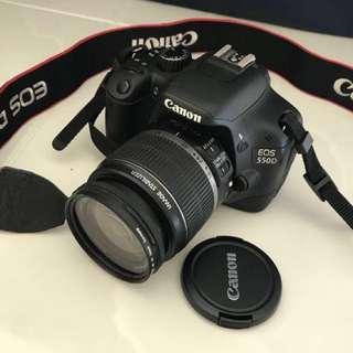 Canon 500D (2010 model)