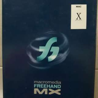 Macromedia Freehand MX Mac (Original)