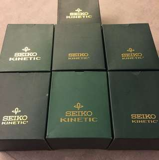 Vintage watch cases - Seiko kinetic