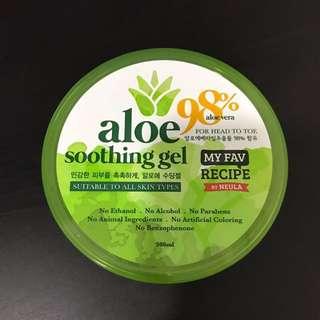 My Recipe Aloe Vera soothing gel