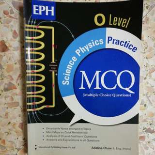 O level Physics Practice Book
