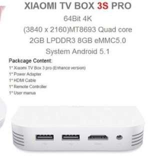 Xiaomi Mibox 3 Enhanced Edition - MDZ-18-AA