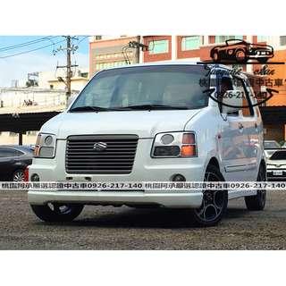 【FB搜尋桃園阿承】鈴木 超人氣SOLIO 2004年 1.3 白色 二手車 中古車