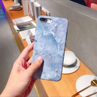 藍色大理石iphone6/6s case