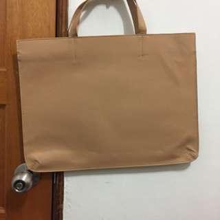 🚚 杏色手提包